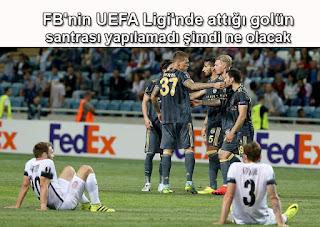 Fenerbahçe'nin UEFA Avrupa Ligi'nde attığı son saniye golünün santrası yapılamadı Şimdi ne olacak