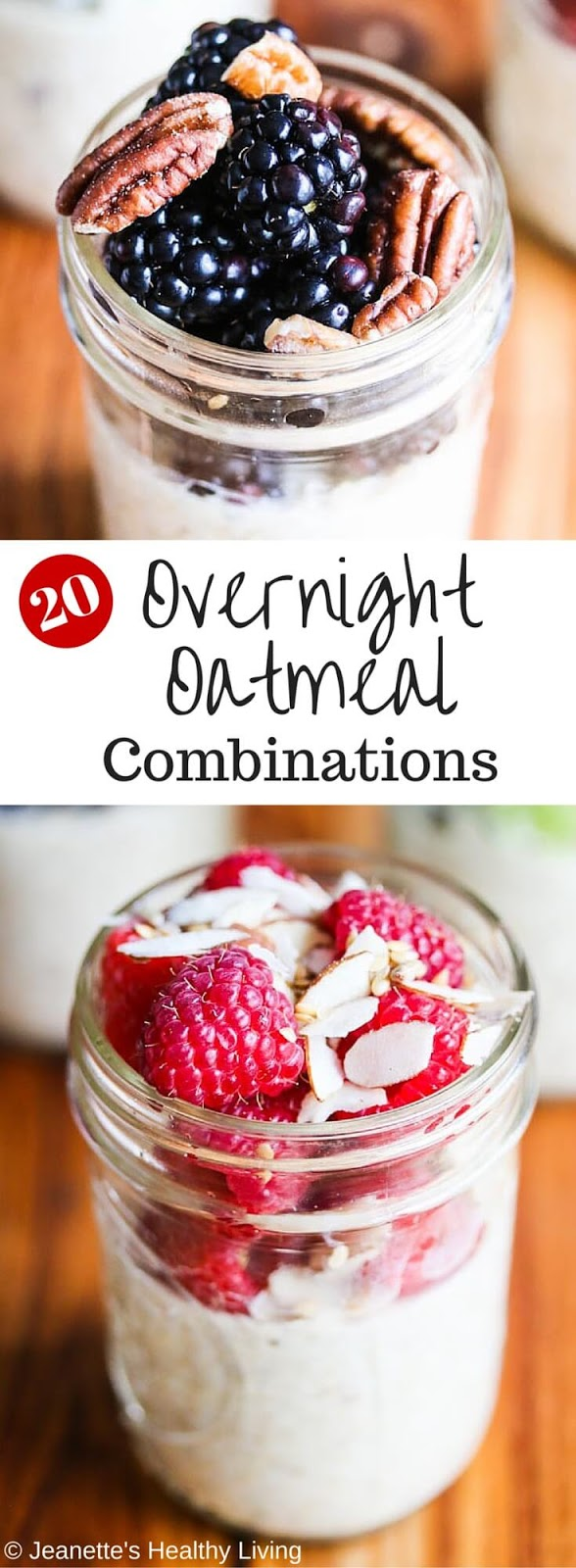 Healthy Overnight Oatmeal