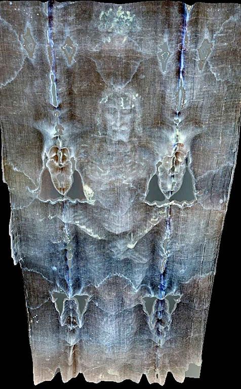 La Sábana santa: montaje tridimensional por Thierry Castex