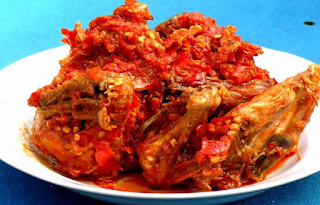 Resep Ayam Goreng Balado Rumah Makan Padang