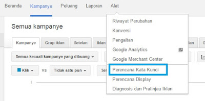 Cara Riset Kata Kunci Menggunakan Google Keyword Planner