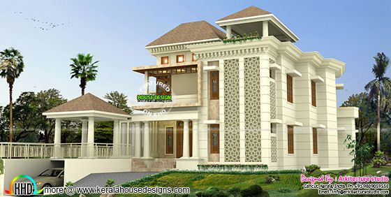 500 sq-yd modern house architecture