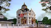 Thiết kế biệt thự lâu đài 3 tầng Pháp đẹp ở Châu Quỳ, Hà Nội - Ảnh 4