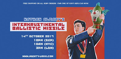 Interkrustinental Ballistic Missile Vinyl Figure by Nathan Cleary x Mighty Jaxx