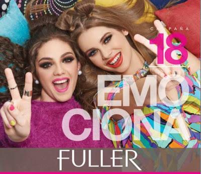 fuller cosmetics campaña 18 2016