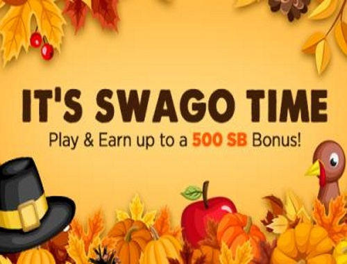 Swagbucks Get more Free gift cards during November Swago with Spin & Win