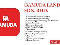Jawatan Kosong di Gamuda Land Sdn Bhd - Gaji RM1,800 - RM4,500