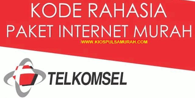 Daftar Kode Rahasia Paket Internet Murah Dari Telkomsel