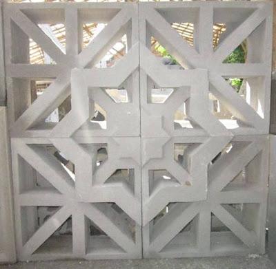 roster masjid motif bintang segi delapan tipe cluster