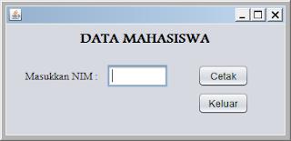 Kelas Informatika - Input Data Mahasiswa