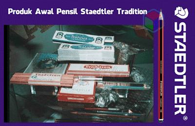 Produk Awal Staedtler Tradition
