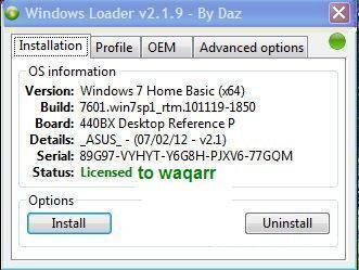 Windows 7 loader by daz v3 download (february 2019) {updated}.