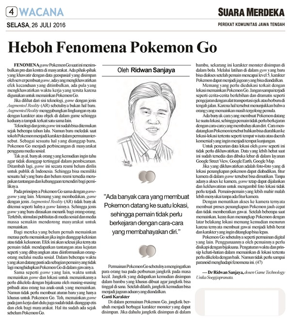 Heboh Pokemon Go