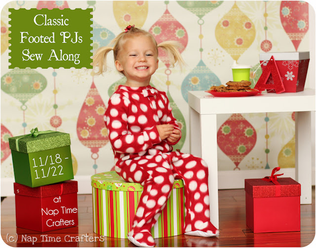 2e3c74b3a0 Are you ready to sew up some pjs ! I used this as the perfect excuse to  make my kiddos Christmas PJs. I want them to be a surprise so no modeled  photos ...