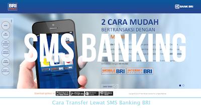Cara Transfer Lewat SMS Banking BRI (Termudah.com)