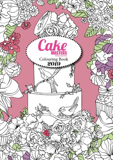 Livre de Coloriage Cake Masters Magazine