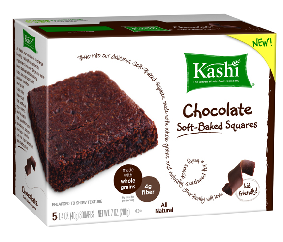 Kashi Chocolate Soft-Baked Squares review and giveaway