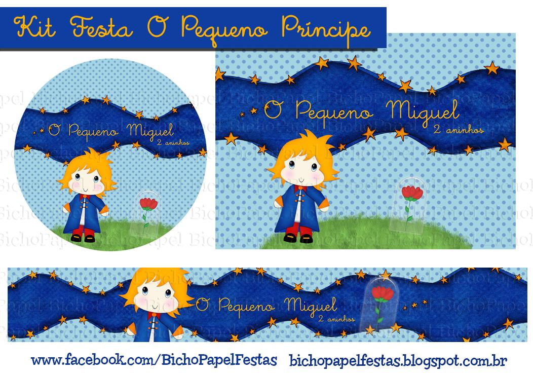 Kit Festa Pequeno Príncipe