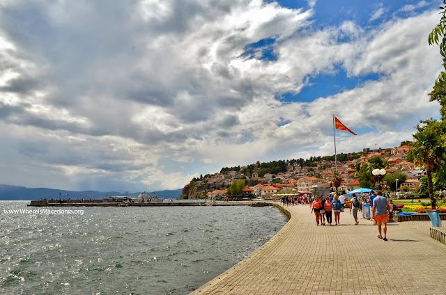 Ohrid port, Macedonia
