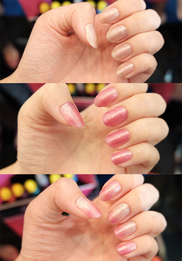mukka kosmetik changing color nail glitter | bigdreamerblog.com