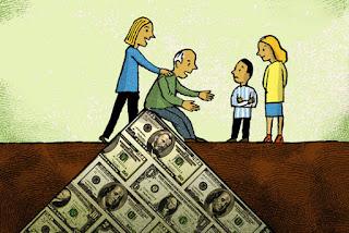 elderly money