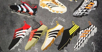 promo code 8a373 7d57a Awesome Adidas Glitch 1998, 2002, 2006, 2010   2014 World Cup Concept Boots  by Chris Pottle