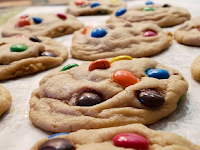 Soft & Chewy M&M Cookies Recipe