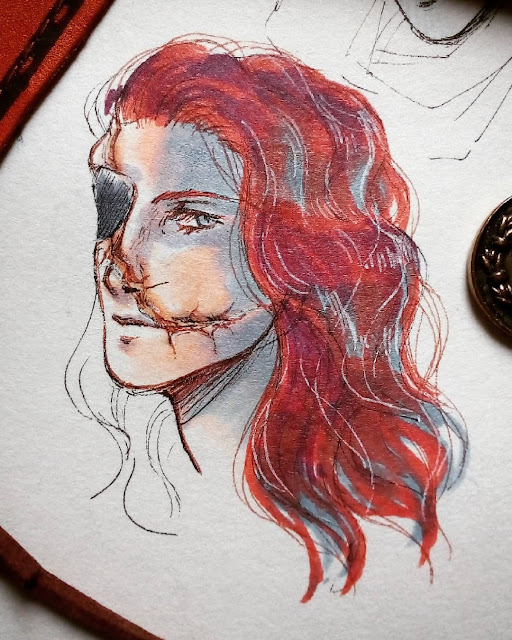 not_very_ladylike  - hester shaw drawing