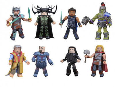 Walgreens Exclusive Thor: Ragnarok Marvel Minimates 2 Packs by Diamond Select Toys