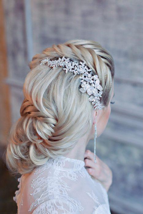 Peinados para novia ¡25 Look Fabulosos!