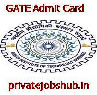 GATE Admit Card