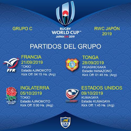 Los Pumas debutan con Francia en RWC 2019
