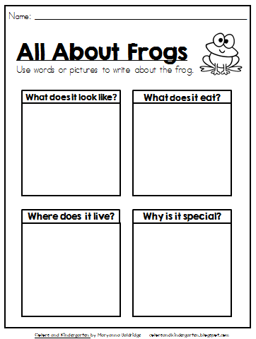 http://www.teacherspayteachers.com/Product/My-Science-Journal-Pond-Animals-1271425