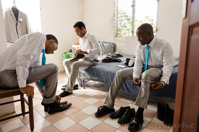Guadeloupe mariage garçons d'honneur