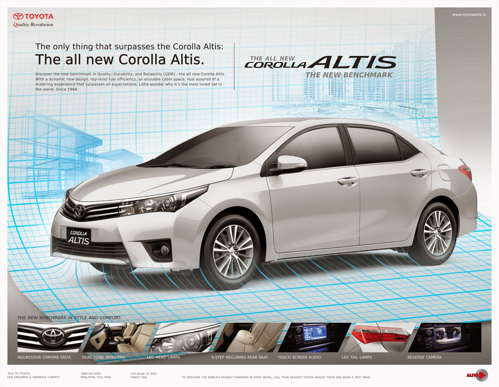 New Corolla Altis Launch Date Gambar Grand Avanza Veloz The Works Toyota Ads