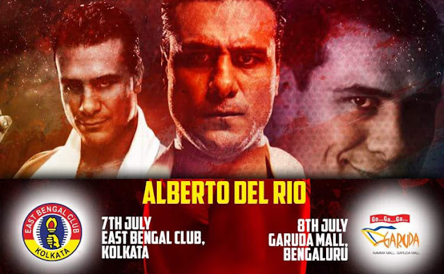 "WWE Superstar *Alberto Del Rio* in India - Complete Schedule & Winner of Contest Winners  WWE Superstar-cum-2 time WWE Champion ""Alberto Del Rio"" coming to India this year. E-Xpress Interactive (Indian 2K Games Distributor) announced that fans who pre-order WWE 2K17 by Thursday (30/6) will get a chance to meet Alberto Del Rio. wwe beyond the ring tensports india 2016 alberto del rio photos, news, gallery"