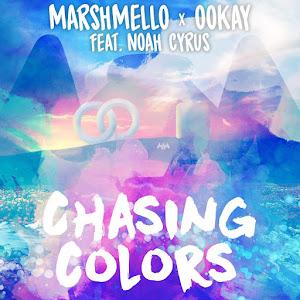Marshmello - Chasing Colors (feat. Noah Cyrus) - Single Cover