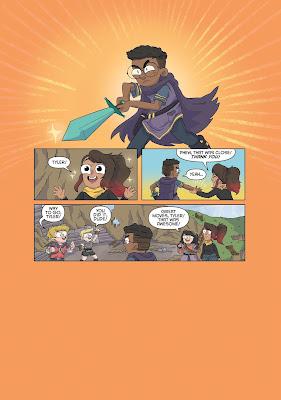Dark Horse Minecraft Comic Book Preview