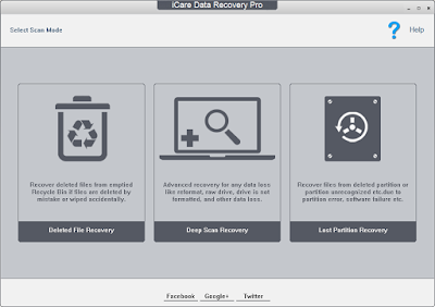 Screenshot iCare Data Recovery Pro 8.0.8 Full Version