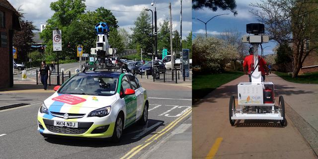 Mobil dan motor google maps