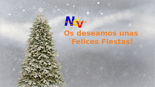 NCV os desea unas Felices Fiestas