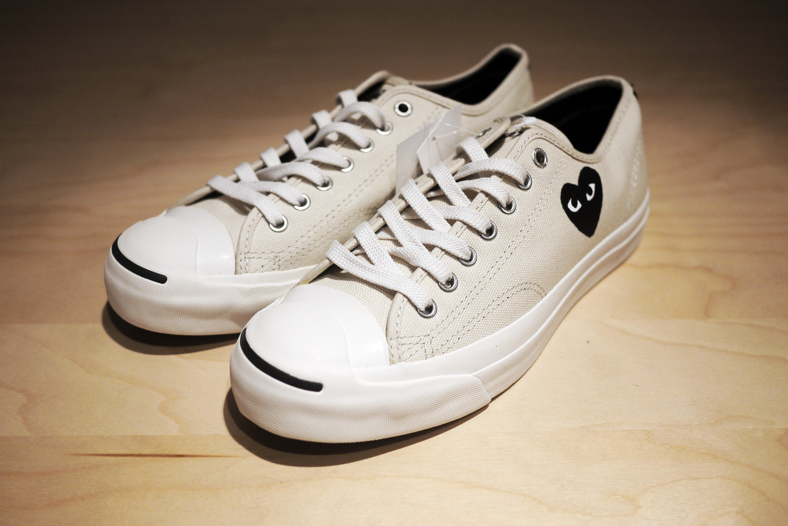 8e71b79439a74c SOLD OUT) Converse Jack Purcell x COMME des GARCONS PLAY