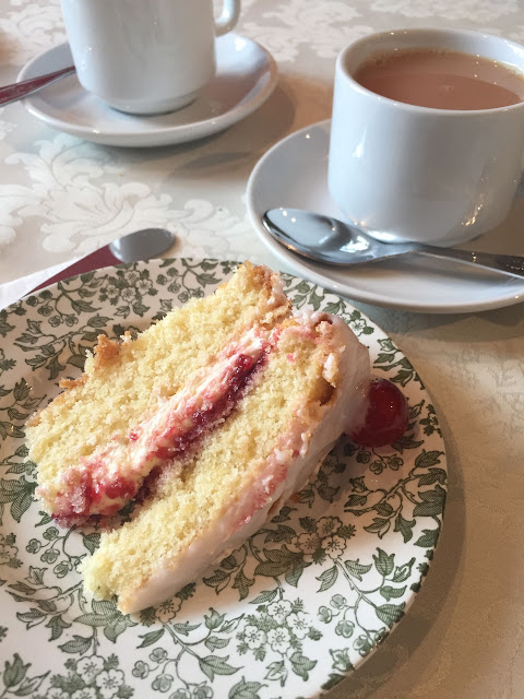 Tea and Cake at Burton Court