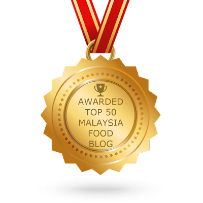 "FOLLOWMETOEATLA Food Blog Awarded ""The TOP 50 MALAYSIA FOOD BLOG AWARD"" By Feedspot.Com"