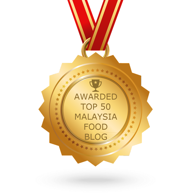 "FOLLOWMETOEATLA Food Blog Awarded ""The TOP 50 MALAYSIA FOOD BLOG AWARD"""