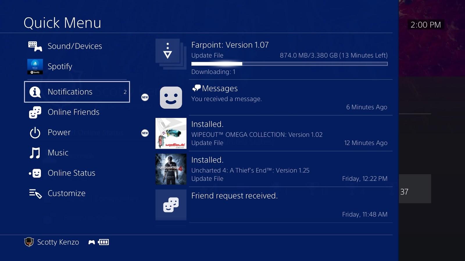 Hoy comienza la beta de la actualización 5.00 de PlayStation 4