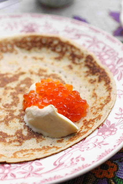 blinis russes fins