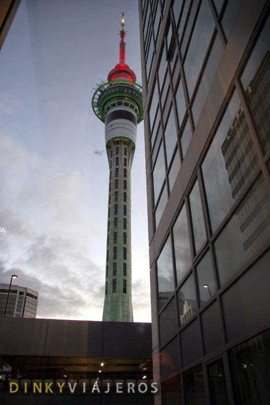 Hotel Rydges Auckland. Vistas de la habitación 327