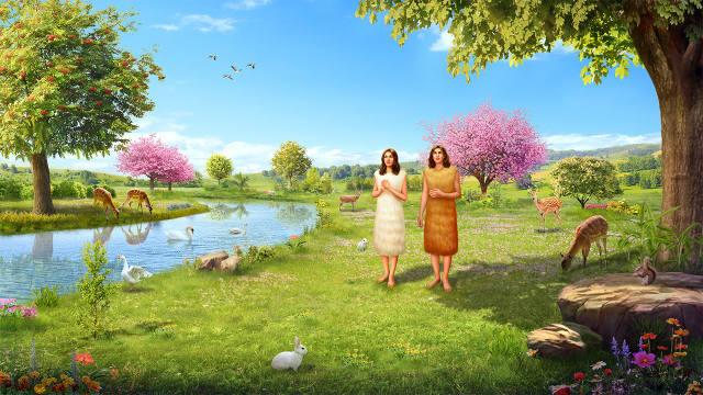 Adão e Eva: Comando de Deus para Adão