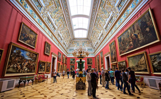 www.xvlor.com State Hermitage Museum is Catherine the Minerva as the world's largest